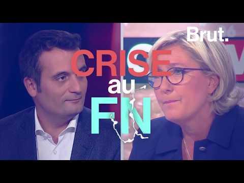 Crise au FN : dialogue virtuel Marine Le Pen / Florian Philippot