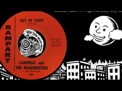 """Cannibal and the Headhunters """"Out of Sight"""" (Rampart, 1966): NY Night Train Daily Party Platter"""