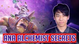ANA Alchemist perspective - 100% Winrate in TI9 with ALCHEMIST - Insane farming skill - part 1