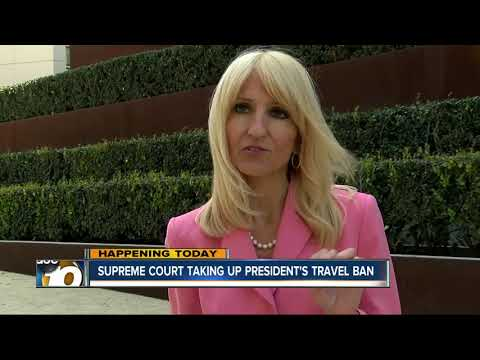 Supreme Court to examine Trump's travel ban