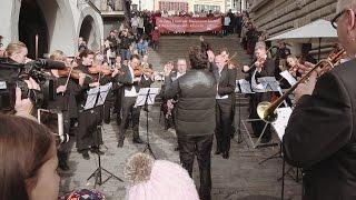 Flashmob Luzerner Sinfonieorchester
