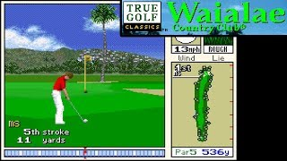 True Golf Classics: Waialae Country Club ... (SNES)