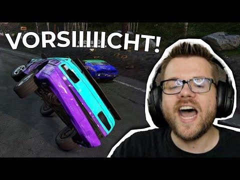 Chris braucht NUR 2 REIFEN! | Wreckfest