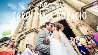 Arte Eventos - Matrimonio Socorro Caro y Horacio - Bodas espectaculares
