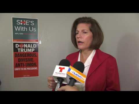 Catherine Cortez Masto, Democratic candidate for the 2016 U.S. Senate election in Nevada.