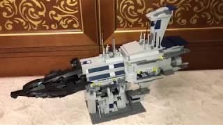 Lego Star Wars Custom Invisivle Hand Версия 2 (Незримая Длань) Обзор на русском