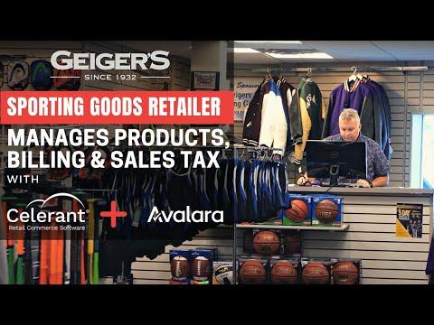 Sporting Goods Retailer Manages Merchandise, Customer Billing & Sales Tax W/ Celerant