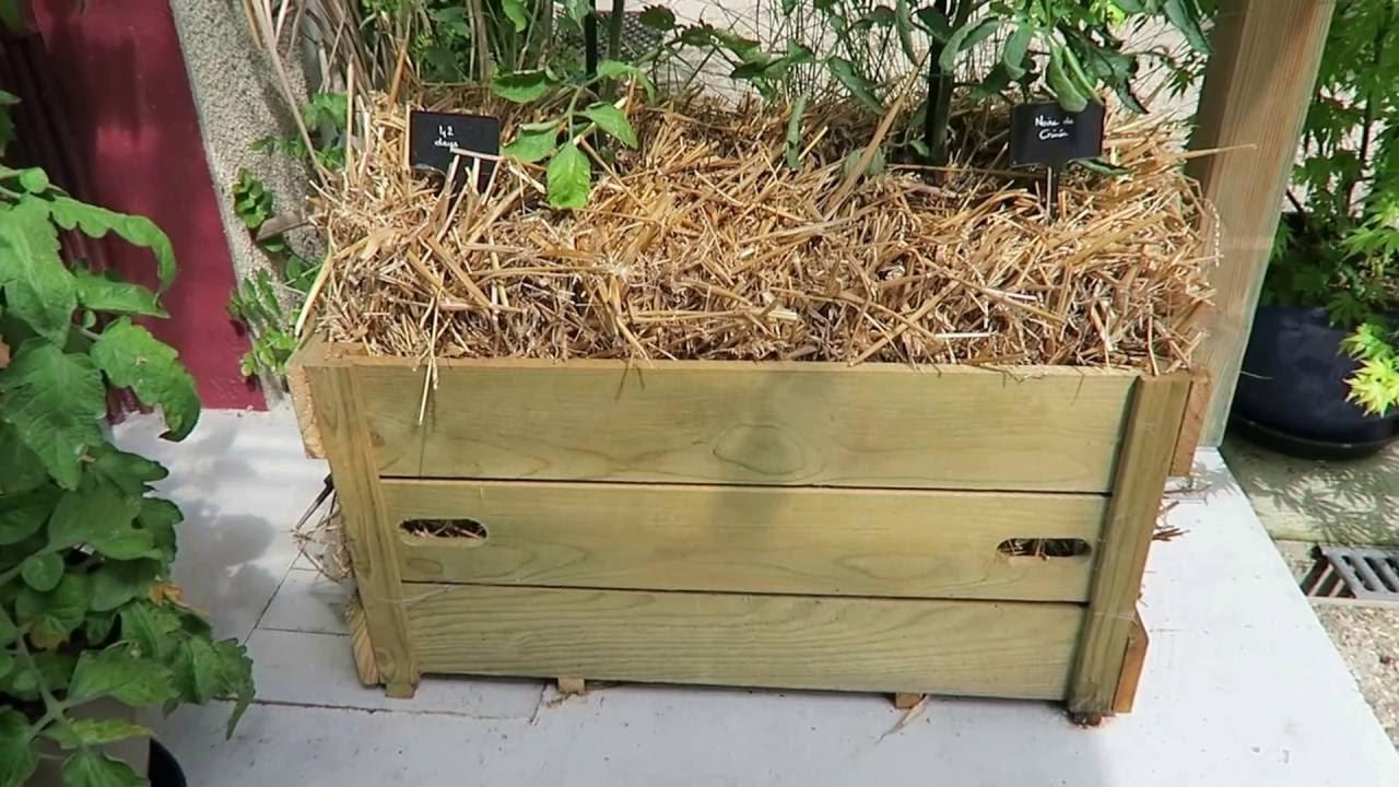mon jardin potager urbain permaculture juin 2016 youtube. Black Bedroom Furniture Sets. Home Design Ideas