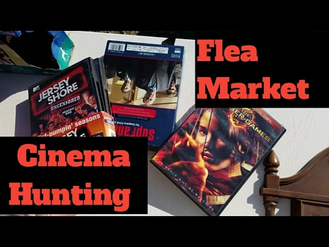 FLEA MARKET CINEMA HUNTING