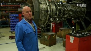 Motoronderhoud bij KLM Engine Services