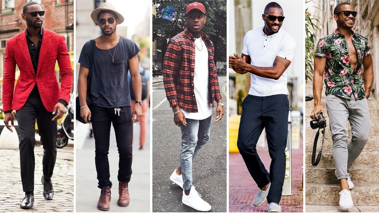Most Stylish Black Men S Outfit Ideas Attractive Outfits For Black Men Black Men S Fashion 2020 Youtube
