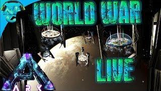 World War ARK Launch Madness - ARK vs ARK Warfare Live! E1
