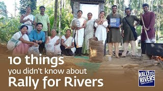 10 things you didn't know about Rally for Rivers