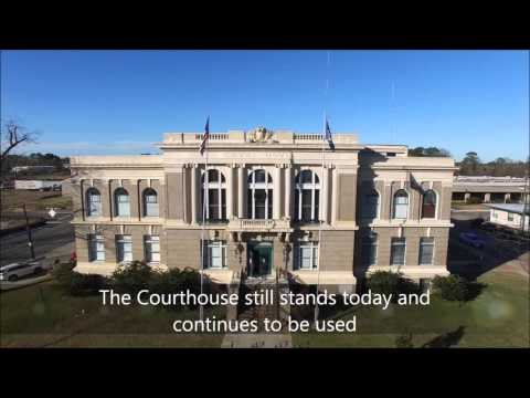 History Live and in Living Color:  DeSoto Parish Courthouse