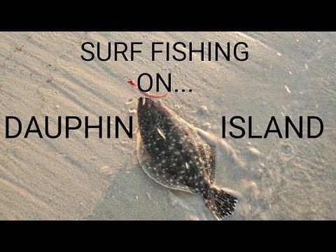 Surf Fishing All Over Dauphin Island!