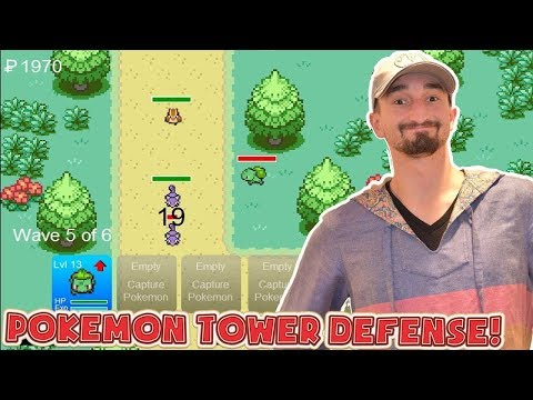THE BEST POKEMON TOWER DEFENSE TEAM!? - Flash Player Games