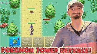 THE BEST POKEMON TOWER DEFENSE TEAM!? - Flash Player Games