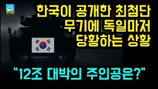 """한국이 공개한 최첨단 무기에 독일마저 당황하는 상황 / """"12조 대박의 주인공은?"""" [잡식왕]"""