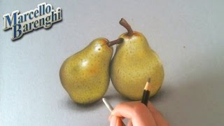 Two Pears Speed Drawing