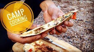 Camping Snack! Elk Steak Quesadillas