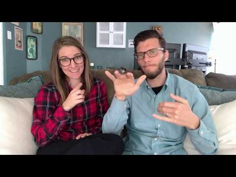 Q&A Part 1 Video - How I became Deaf, Why she signs, Kids, and More | Deaf and Hearing Couple