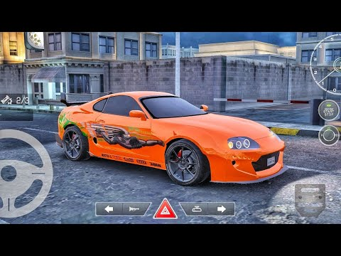 Real car parking 2 - Supra turbo from fast and furious|real car parking 2 driving school 2020 Update