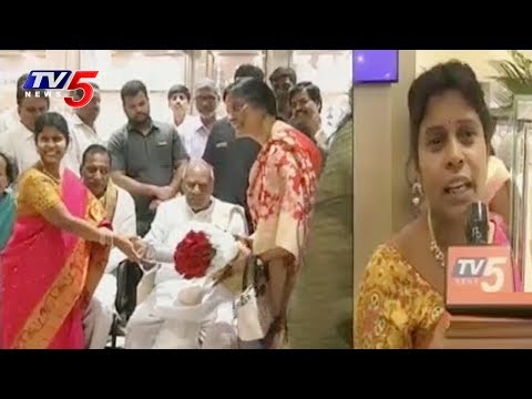 TN former Governor Rosaiah Launched Vaibhav Jewellers Showroom At Secunderabad | TV5 News