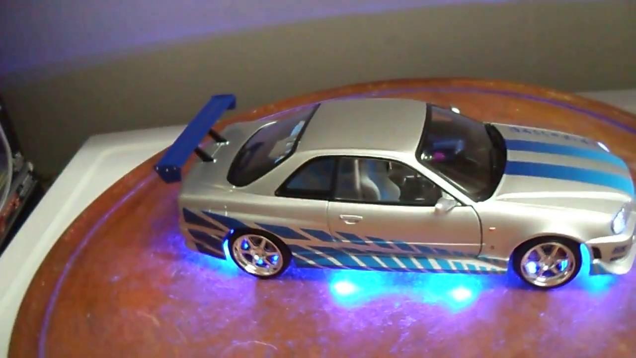 Brian S 1999 Nissan Skyline Gt R R34 1 18 Scale Diecast