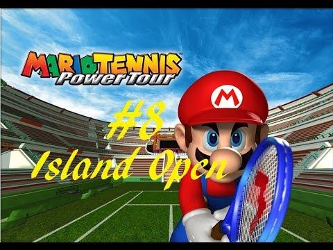 Mario Tennis: Power Tour Playthrough - Part 8 - Island Open