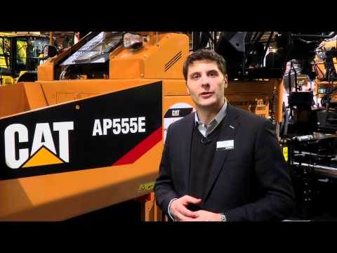 Great Year To Connect To Cat® Paving Products | INTERMAT 2012