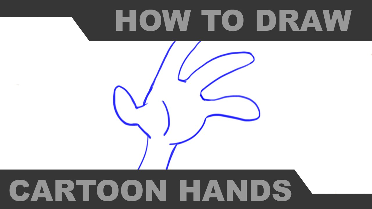 How to Draw Cartoon Hands Part 2 - Mr. H - YouTube