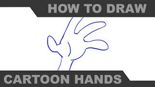 How to Draw Cartoon Hands Part 2 - Mr. H