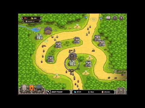 Kingdom Rush HARD DIFFICULTY- Silveroak Forest IRON CHALLENGE on iPad