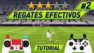 FIFA 18 REGATES EFECTIVOS + COMBOS de REGATES de 3 ⭐️ - TODOS LOS REGATES TUTORIAL
