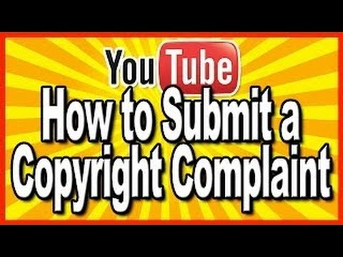 How to Submit a Copyright Takedown Notice in YouTube