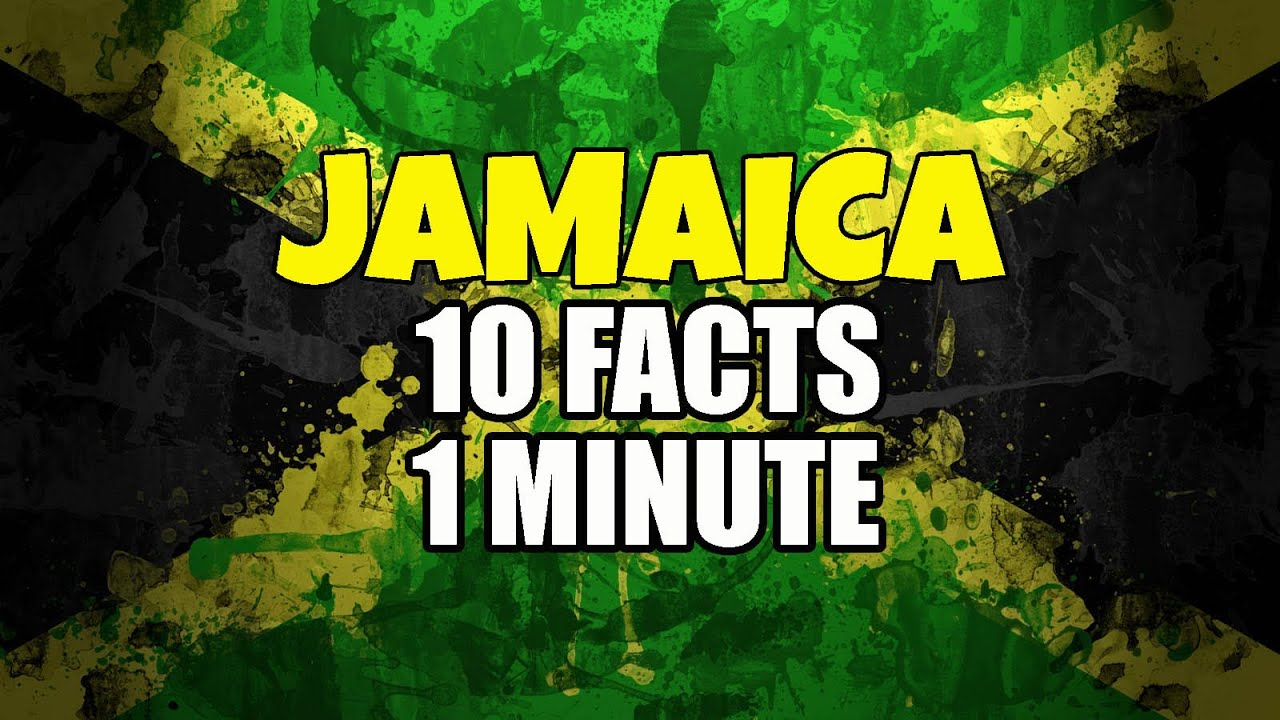 Jamaica Facts In Minute YouTube - 12 interesting facts about jamaica