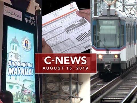 UNTV: C-News (August 15, 2019)