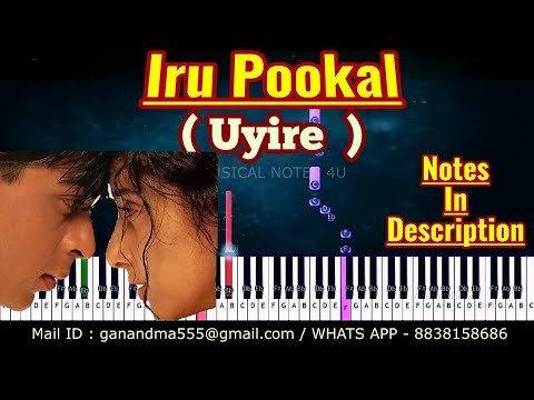 Iru pookal Piano