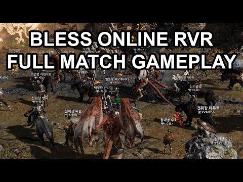 Bless Online RvR PvP Full Match Long Gameplay Preview