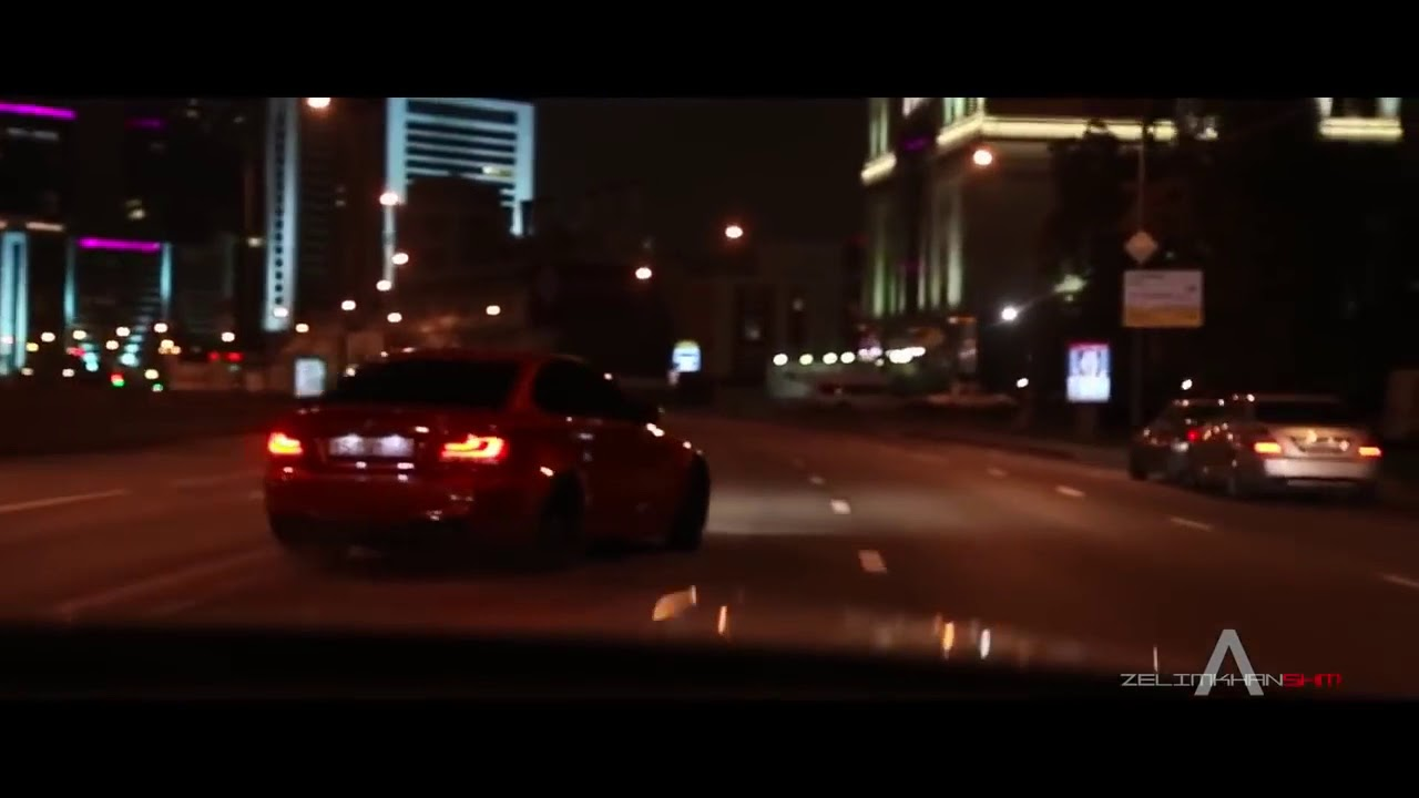 BMW M1 drift in Moscow