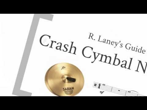Crash Cymbal Notation Guide