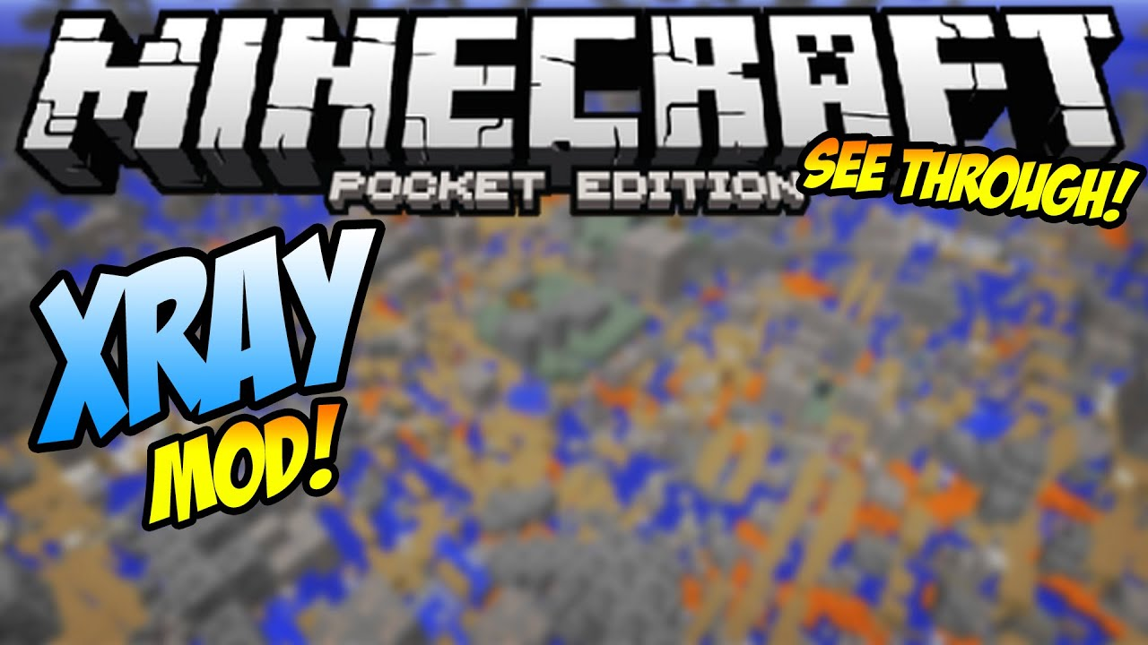 X-Ray Mod For Minecraft PE Android & iOS Download