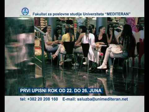 Montenegro Business School - Upis