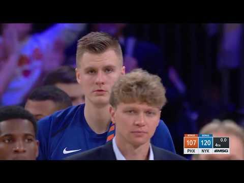 Phoenix Suns vs. New York Knicks - November 3, 2017
