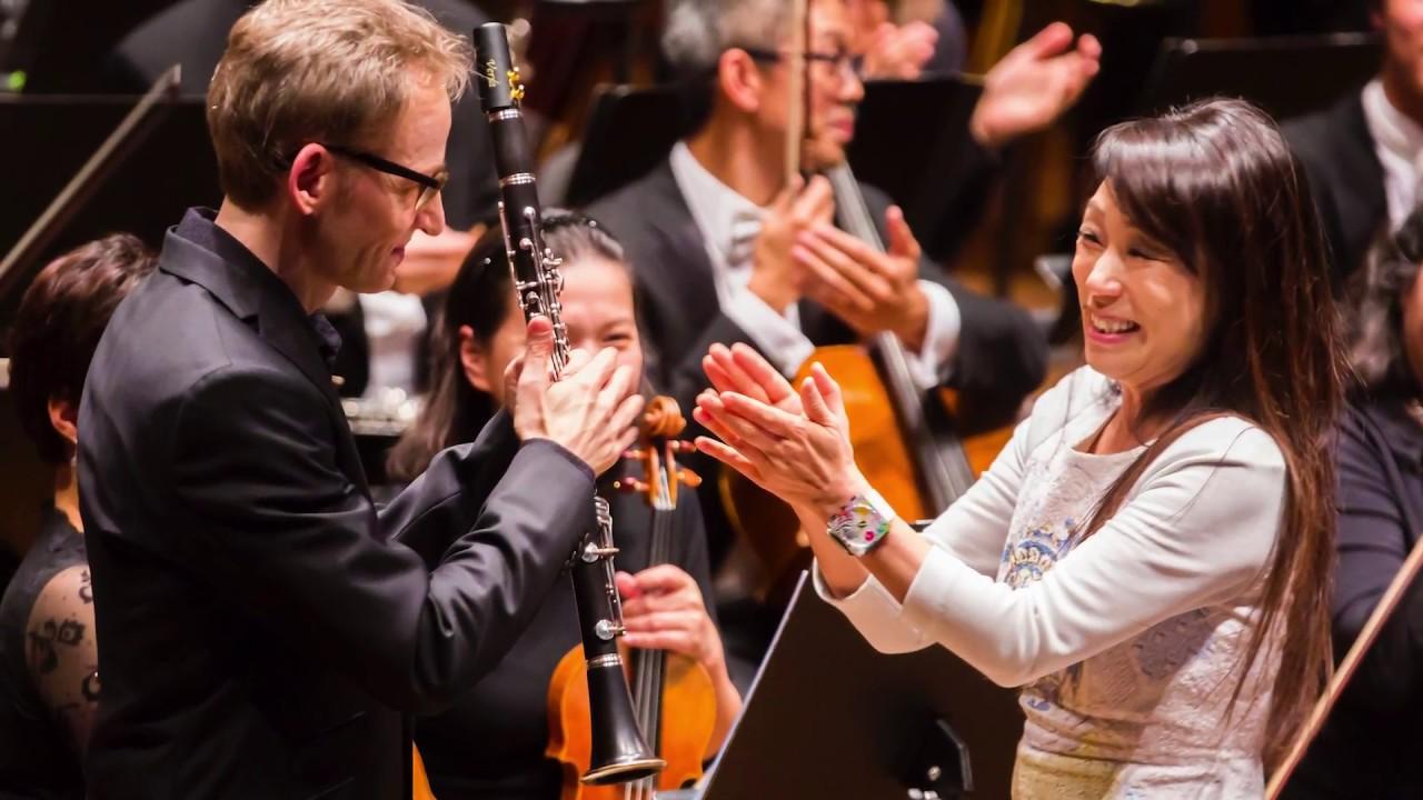 Kravis Prize Winner Unsuk Chin's Clarinet Concerto (Excerpt)