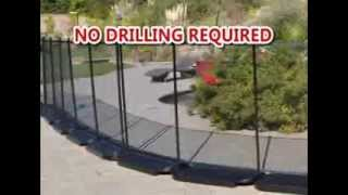 Video No Holes Pool Fence - No Drilling In The Ground download MP3, 3GP, MP4, WEBM, AVI, FLV Agustus 2018