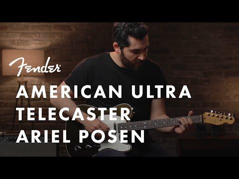 Ariel Posen Plays The American Ultra Telecaster | American Ultra Series | Fender