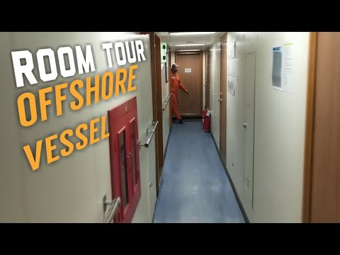 Daily Seafarers | OFFSHORE VESSEL ROOM TOUR | CABIN INSPECTION