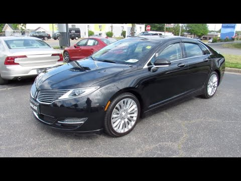 Download *SOLD* 2016 Lincoln MKZ 2.0T AWD Walkaround, Start up, Tour and Overview
