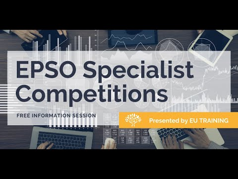 EPSO Specialist Competitions Information Webcast